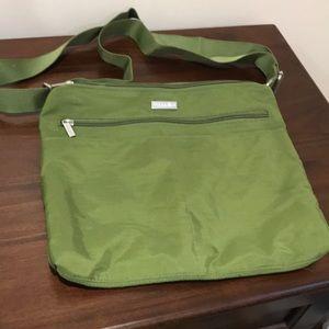 Baggallini Crossbody Multi Zip Compartment Bag